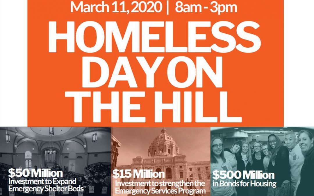Homeless Day on the Hill